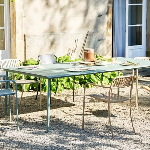 Discover Tolix Patio Collection, French Outdoor Furniture